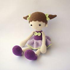 PDF Didi doll Balerina doll Crochet Pattern  Doll Crochet