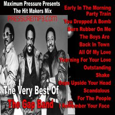 Best Of The GAP BAND Greatest Hits Mix Mixtape Compilation CD