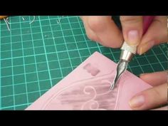 Stamp Carving - Details - YouTube