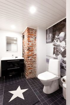 wc @ Asuntomessublogit Toilet, Bathroom, Inspiration, Home, Washroom, Biblical Inspiration, Flush Toilet, Full Bath, Ad Home