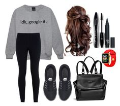 """Google it"" by katiemichellegilbert on Polyvore featuring NIKE, Givenchy and Lancôme"