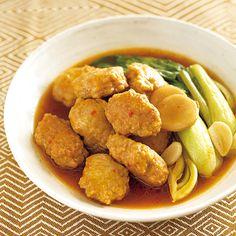豚だんごのピリ辛煮 | 秋元薫さんの煮ものの料理レシピ | プロの簡単料理レシピはレタスクラブネット