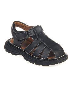 Another great find on #zulily! Black Suchsion Sandal #zulilyfinds
