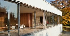 Mies van der Rohe's Villa Tugendhat in the Czech Republic, restored and now open to the public.