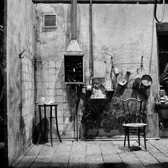 On the set of Andrei Tarkovsky's Stalker (1977)