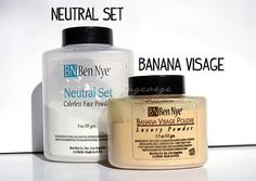 Ben Nye Setting Powders... the best setting powder out there! Hands down!!!!!!!!!!