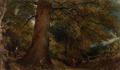 "John Constable (1776–1837), ""Woodland Landscape"" (1815)"