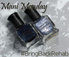 Mani Monday - Deborah Lippmann Rehab via @alllacqueredup