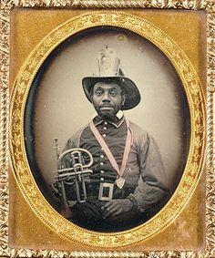 ca. 1855-56, [portrait of a firefighter in uniform] via the J. Paul Getty Museum