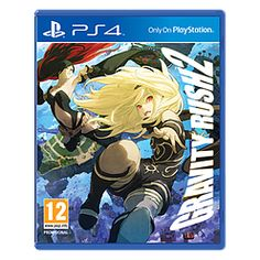 Gravity Rush 2 Playstation 4 Cover Art