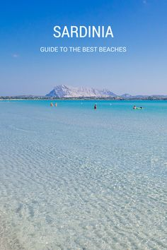 Road trip itinerary to discover the best beaches in Sardinia, Italy. You can either use one town as a base or go from beach to beach.