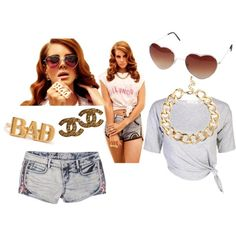 """Lana Del Rey Costume II"" by madisonlewis on Polyvore"