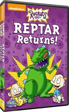Sugar Pop Ribbons Reviews and Giveaways: Nickelodeon Rugrats: Reptar Returns DVD Review & Giveaway