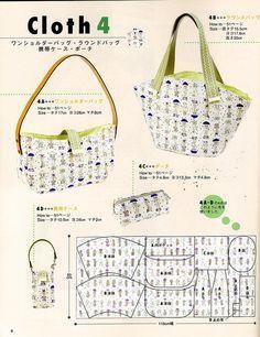 pattern, bolsa molde