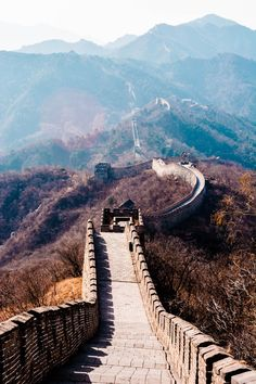 / Great Wall by Tobysan Sparky Oh The Places You'll Go, Great Places, Places To Travel, Beautiful Places, Places To Visit, Travel Things, New Seven Wonders, Wonders Of The World, Great Wall Of China