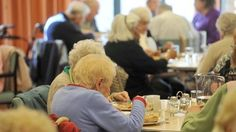 Many older people living in care homes have an