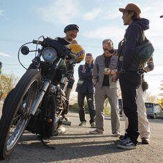 "from Instagram of ""tom_ironhorse_78"" 2017.5.4  #オワイナイト #owaiknight #猪苗代 #福島 #Harleydavidson #shovelhead #panhead #flathead #evolution #chopper #oldschool #sportster #ironhead #xs650  #motorcycle #bober"