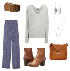 """""""Nina Proudman Week 1"""" by lm-stylist on Polyvore featuring Tod's, Cole Haan, Joseph and Frye"""