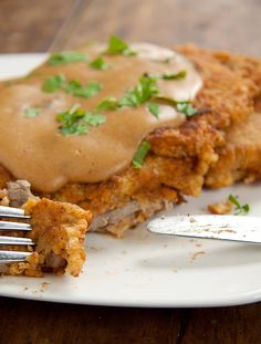 My Mom's Chicken-Fried Steak from Simply Delicious