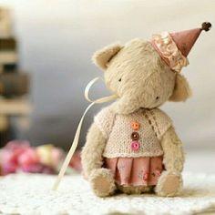 Мишки Тедди ручной работы. Ярмарка Мастеров - ручная работа. Купить Друзья тедди.Слоник Ди. Handmade. Бежевый
