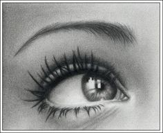 Amazing drawing of an eye.