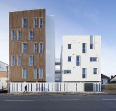 Galería de 16 unidades de vivienda social / Atelier Gemaile Rechak - 1