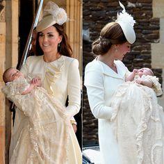 October 23, 2013 vs. July 5, 2015 - Prince George's vs. Princess Charlotte's Christening | POPSUGAR Celebrity