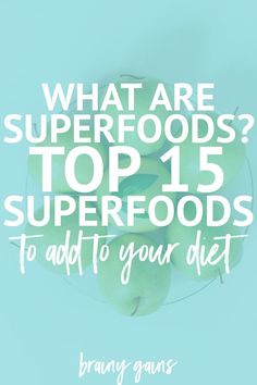 Theres no better time to get healthy than now and this list of the best superfoods can help! Superfoods have been proven to aid in weight loss among MANY other health benefits so check this out and add these superfoods to your diet. Trying To Lose Weight, Diet Plans To Lose Weight, How To Lose Weight Fast, Weight Loss Program, Weight Loss Tips, Best Superfoods, Workout Plan For Beginners, Weight Loss For Women, Healthy Weight Loss