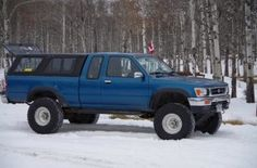 toyota pickup with cap