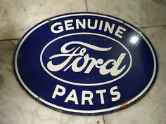 Original 1930 old vintage rare genuine ford parts ad porcelain being sold on e bay is this ford parts sign from india for a hefty sum of 800 i would say this person is indicating that it is an original sign real value sciox Choice Image
