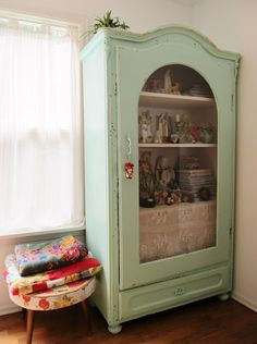 Dottie Angel's fabulous storage. Drool. Thanks so for sharing