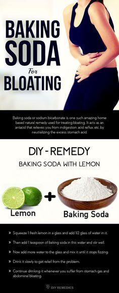Gas Relief Home Remedy Baking Soda