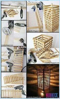 Diy Home Crafts, Wood Crafts, Diy Wood, Resin Crafts, Yarn Crafts, Home Craft Ideas, Decor Crafts, Wood Sticks Crafts, Plate Crafts