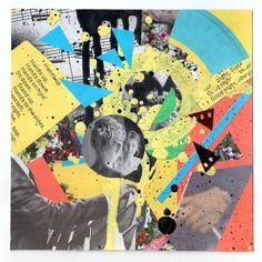 Настя Белка (@seliversta) в Instagram: «Так выглядит ПМС» #collage #collageart #collageartist #picture #paper #paperart #cutandpaste #art #artwork #abstract #режьдаклей