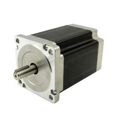 58.26$  Buy now - http://alintq.worldwells.pw/go.php?t=32762236102 - 4 wires CNC Nema34 Stepper Motor J86HB118-06 8.5N.m(1215oz-in) shaft diameter 14mm motor length 118mm