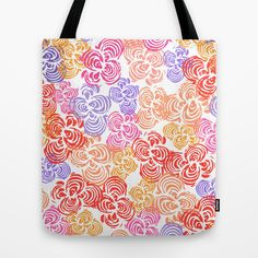 Flowers Abound Tote Bag