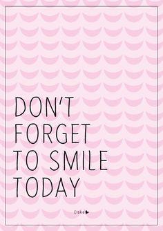 Don't forget to smile   Elske   www.elskeleenstra.nl