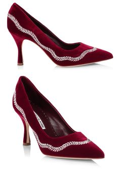 Manolo Blahnik Burgundy Velvet Shoes. Manolo Blahnik Mother of the Bride Shoes. Ever, and always willing to help my customers out I've compiled my selection of the best Mother of the Bride shoes to compliment your Mother of the Bride outfits and hats, that are on trend, fashionable and comfortable. The Best Mother of the Bride Shoes. Round up of the Seasons best shoes for Mother of the Bride. Luxury Mother of the Bride Shoes. Mother of the Bride outfits. Designer Mother of the Bride Shoes. Mother Of The Bride Shoes, Mother Of The Bride Fashion, Shoes For Wedding Guest, Champagne Shoes, Velvet Shoes, Bridesmaid Shoes, Groom Outfit, Killer Heels, Pretty Shoes