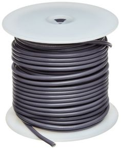 "UL1007 Commercial Copper Wire, Bright, Gray, 14 AWG, 0.0641"" Diameter, 100' Length (Pack of 1) by Small Parts. $35.76. UL1007 .015'' PVC insulation rated 300 volts temp range -40 to 80 C, grey color"