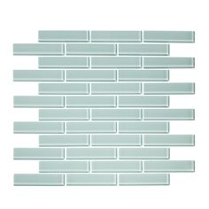 Shop for x Seafoam x Random Glass Mosaic Tile. Get free delivery On EVERYTHING* Overstock - Your Online Home Improvement Shop! Glass Subway Tile, Glass Mosaic Tiles, Online Tile Store, Diy Bathroom Remodel, Bathroom Ideas, Bathroom Designs, Small Bathroom, Master Bathroom, Glass Installation