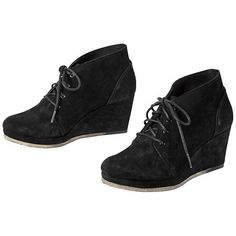 Vogue Aurora Wedge - The suede wedge from Clarks® that takes you to a new height of style in pure comfort.