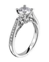 Scott Kay Engagement Ring | www.goldcasters.com