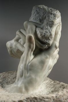 The sculpture I presented to my class in Paris. The Hand of God, Musée Rodin Auguste Rodin Auguste Rodin, Pierre Auguste Renoir, Camille Claudel, Jesus Ressuscité, Art Bizarre, Rodin Museum, French Sculptor, Wassily Kandinsky, Rembrandt