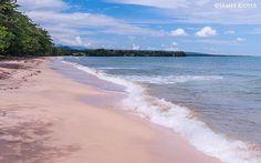 Beach at Cahuita, Costa Rica