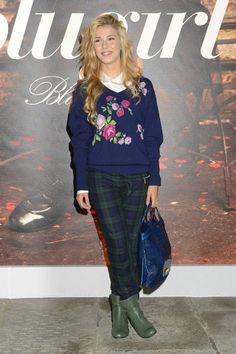 Martina Pinto in Blugirl Fall-Winter 2013/14, attending the Blugirl Spring-Summer 2014 Fashion Show. #mfw