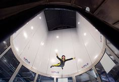 Experience skydiving without leaving Earth at iFly Toronto wind tunnel