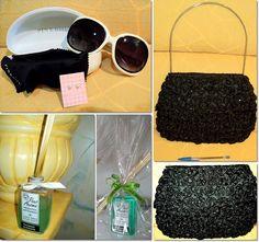 blog vitrine @ugust@ LOOKS | por leila diniz: Mix SORTEIO: óculos de sol e case pink biju + bolsa