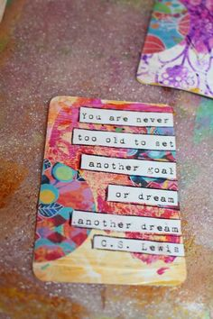 The other day I was browsing through Pinterest (Looove Pinterest) looking to be inspired, and I came across the idea for creating some mixe...