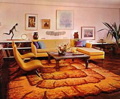 70's decor...I love the '70s and how people decorated their homes back then. My place has touches of this style of home decor.