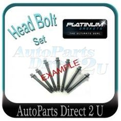 Buy Nissan X-Trail Head Bolt Set at discounted prices from Auto Parts Direct in Sydney, Brisbane, Perth and Melbourne. Online Auto Parts Store, Nissan, Trail
